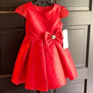 Rare Editions. Red Dress. NWT.